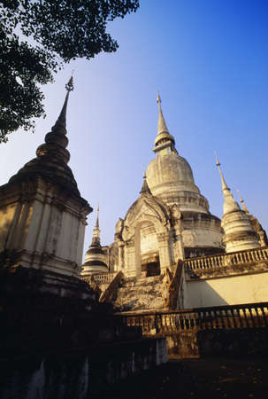 Wat Suan Doc Temple in Chiang Mai, Thailand