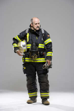 50 something fifty something: Fire fighter