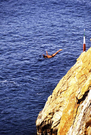 unrestrained: Cliff diving
