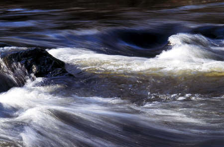 White water rapids, River Teign, Devon, England, Europe