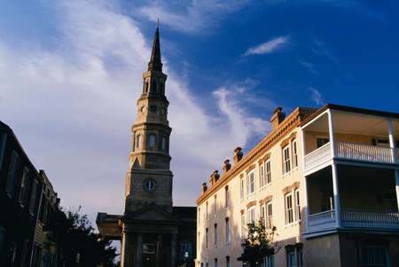 Huguenot Church and historic buildings, Charleston, South Carolina, USA Stock Photo - 7210058