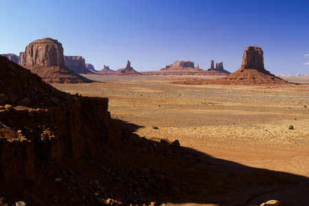 iron oxide: Monument Valley Navajo Tribal Park, Arizona, United States of America