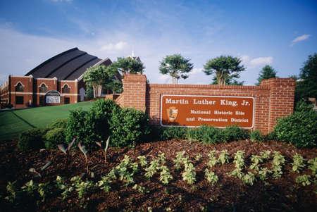 historic site: Martin Luther King Jr. National Historic Site, Atlanta, Georgia, United States of America