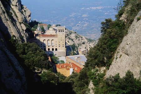 Montserrat Monastery Stock Photo - 7210774