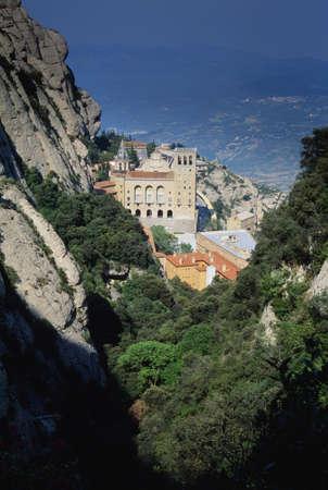 Sierra de Montserrat Monastery, Catalonia, Spain, Europe Stock Photo - 7211007