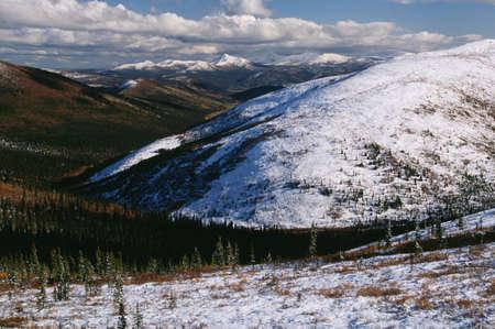 Mountains in the Yukon Territory photo