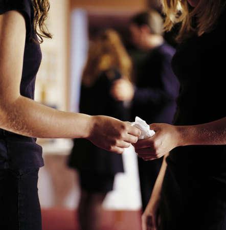 Sharing a tissue