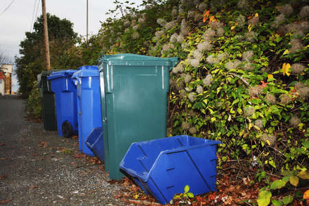 Recycling and garbage bins Stock Photo - 7211038