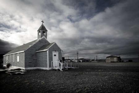 belief systems: Chiesa con il campanile