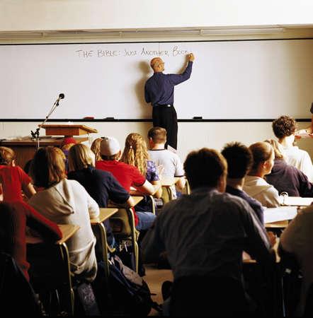 docenten: Studenten in de school