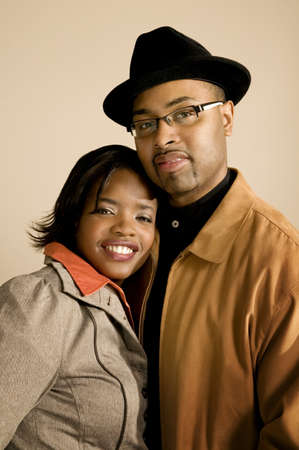 30 something women: Portrait of couple