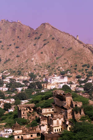 Historic town of Amber, near Jaipur, Rajasthan, India photo
