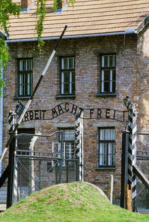 frightfulness: Auschwitz Concentration Camp, Oswiecim, Poland