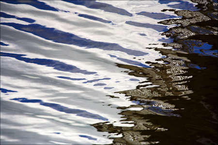 chris upton: Water reflections