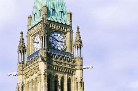 Peace Tower, The Centre Block, Parliament Hill, Ottawa, Canada photo