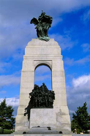 The Response, National War Memorial, Ottawa, Ontario, Canada Stock Photo - 7211276