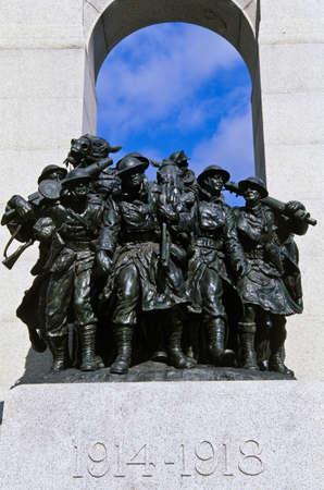 heros: The Response, National War Memorial, Ottawa, Canada