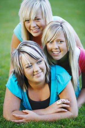Three sisters Stock Photo - 7209917