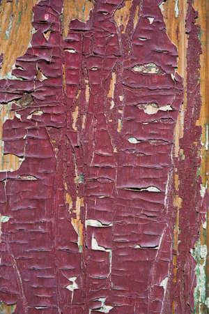 raniszewski: Red paint on wood   Stock Photo