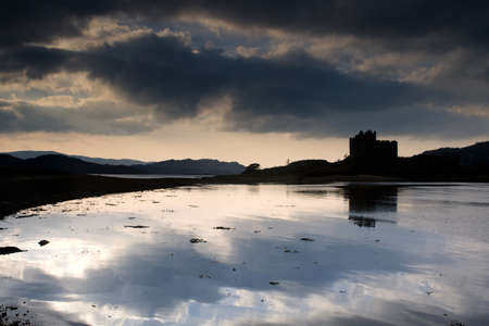scotland landscape: Castle Tioram,Scotland