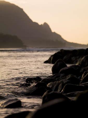 sepias: Scenic view,Kaui,Hawaii