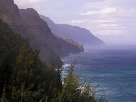 kauai: Napali Coast State Park,Kauai,Hawaii Stock Photo