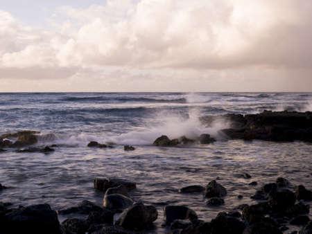 Waves and rocks,Poipu,Kauai,Hawaii Stock Photo - 7206908