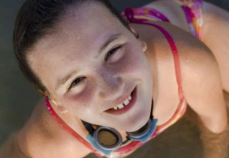 水の中の女の子 写真素材 - 7205215