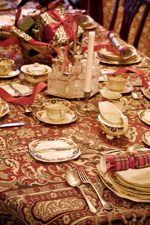 Formal table setting Stock Photo - 7210453