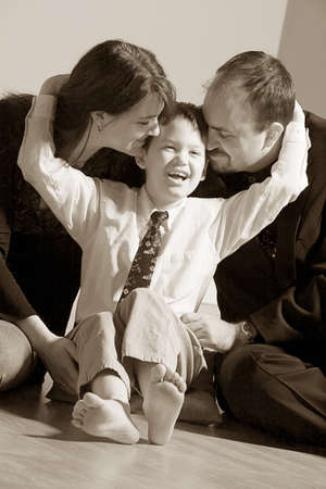 sepias: Family portrait
