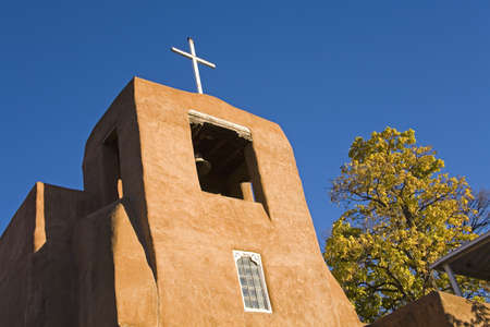cummins: San Miguel Mission Church,city of Santa Fe,New Mexico,USA