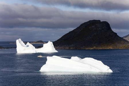 Icebergs,Island of Qoornoq,Province of Kitaa,Southern Greenland,Kingdom of Denmark