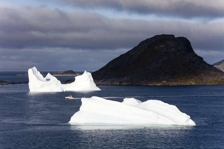 tip of the iceberg: Icebergs,Island of Qoornoq,Province of Kitaa,Southern Greenland,Kingdom of Denmark