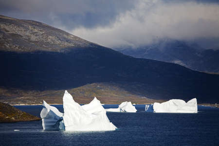 cummins: Icebergs,Island of Qoornoq,Province of Kitaa,Southern Greenland,Kingdom of Denmark