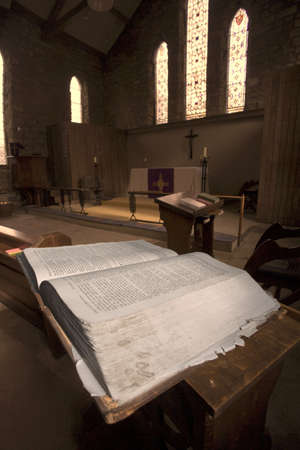 place to learn: Bible in church