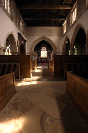 architectural interiors: Inside a church
