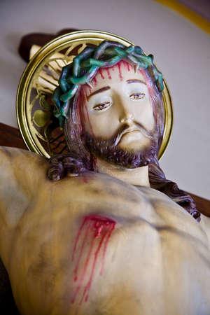 Artistique associé le crucifix.  Banque d'images - 7209604
