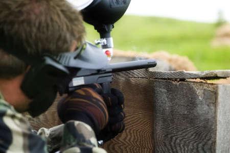 Preparing to shoot