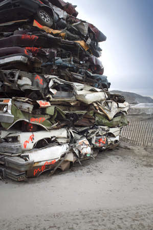 warkentin: Pile of crushed cars