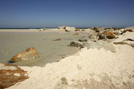 noord: Sandy beach, Noord Hoek, South Africa