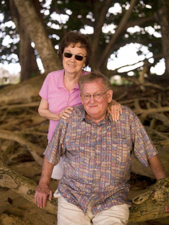 sixty something: Portrait of a couple