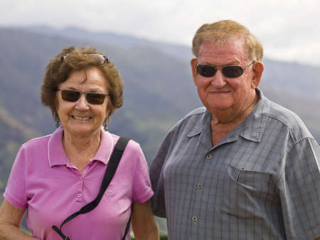 seventy something: Portrait of a couple