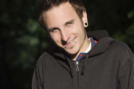 leah: Male portrait