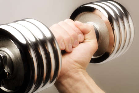 Lifting weights Stock Photo - 7205778