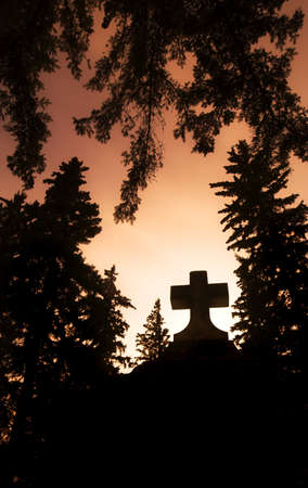 Cross silhouette Stock Photo - 7206910