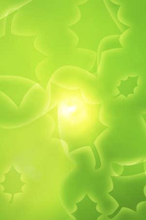 knorr: Green leafy design