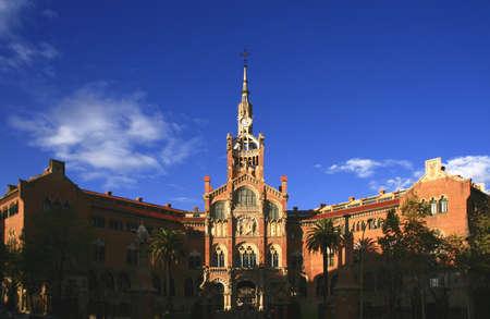 Hospital de Sant Pau, Barcelona, Spain photo