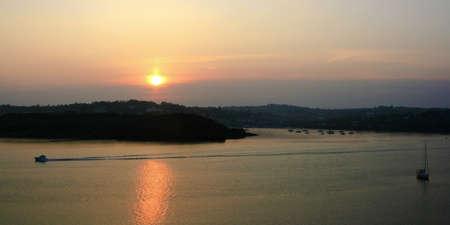 co cork: Sunset over James Fort and Kinsale Harbour, Cork, Ireland