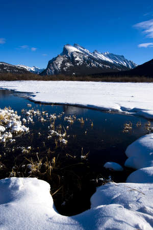 banff national park: Mount Rundle,Banff National Park,Alberta,Canada