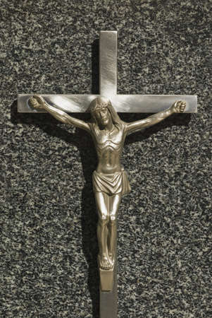 Crucifix on grave Stock Photo - 7210064